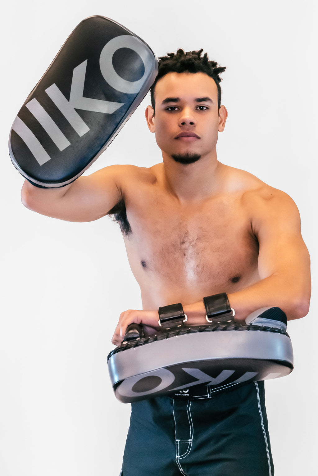 DRAKO PRO LEATHER KICK PADS