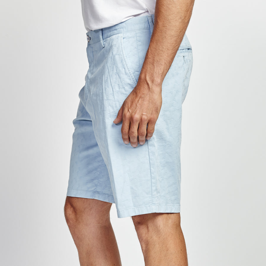 CLASSIC FIT LIGHT BLUE SHORT
