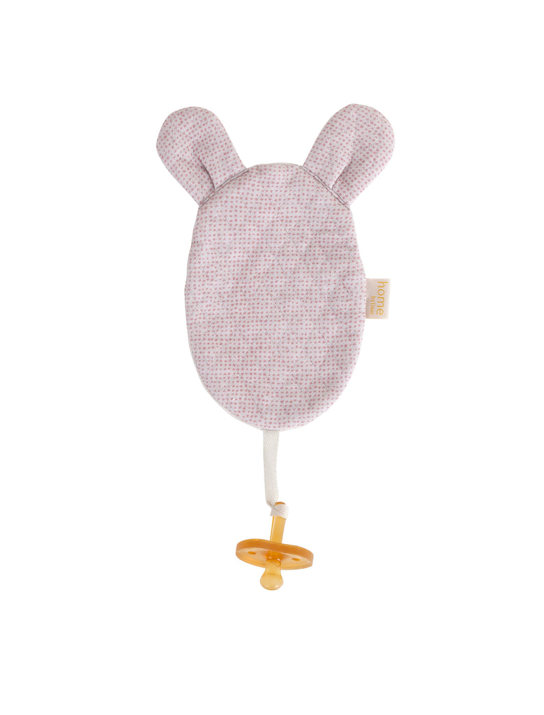 Luxury Mouse Organic Dummy Cloth- Sand/Soft pink