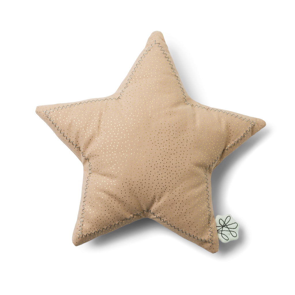 Picca Loulou pink star cushion