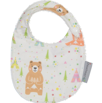Fox & Bear Towelling Bib