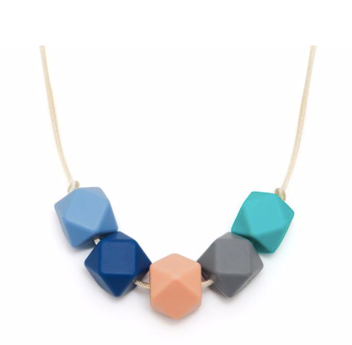 Lara & Ollie Teething Necklace - Lily