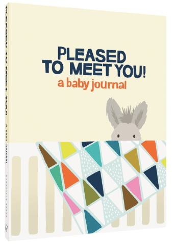 Pleased to meet you Baby Journal