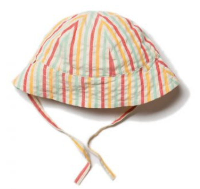 Sunset Stripe Sunhat - Little Green Radicals