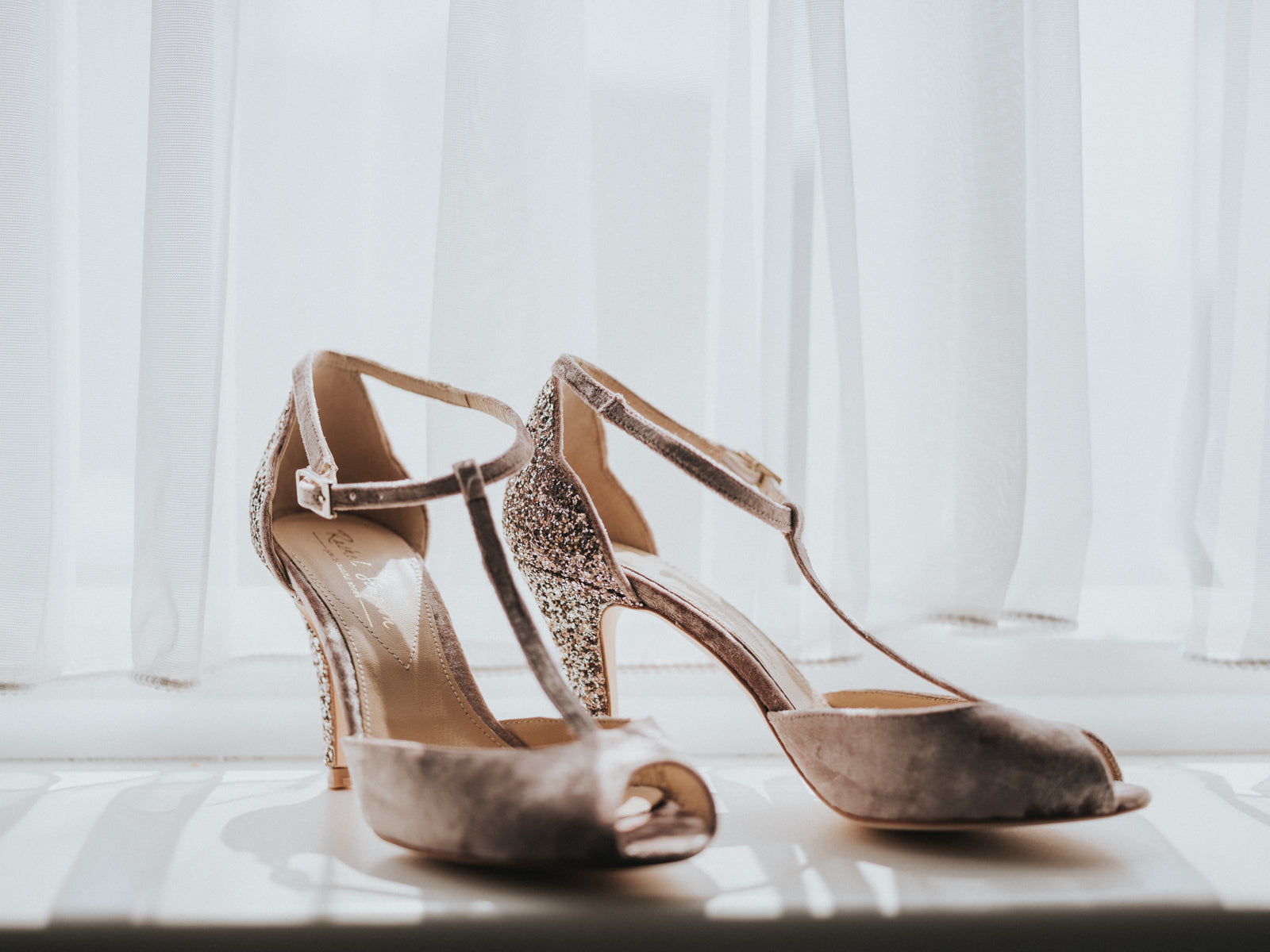 Oliva Mauve Wedding shoes Rachel Simpson
