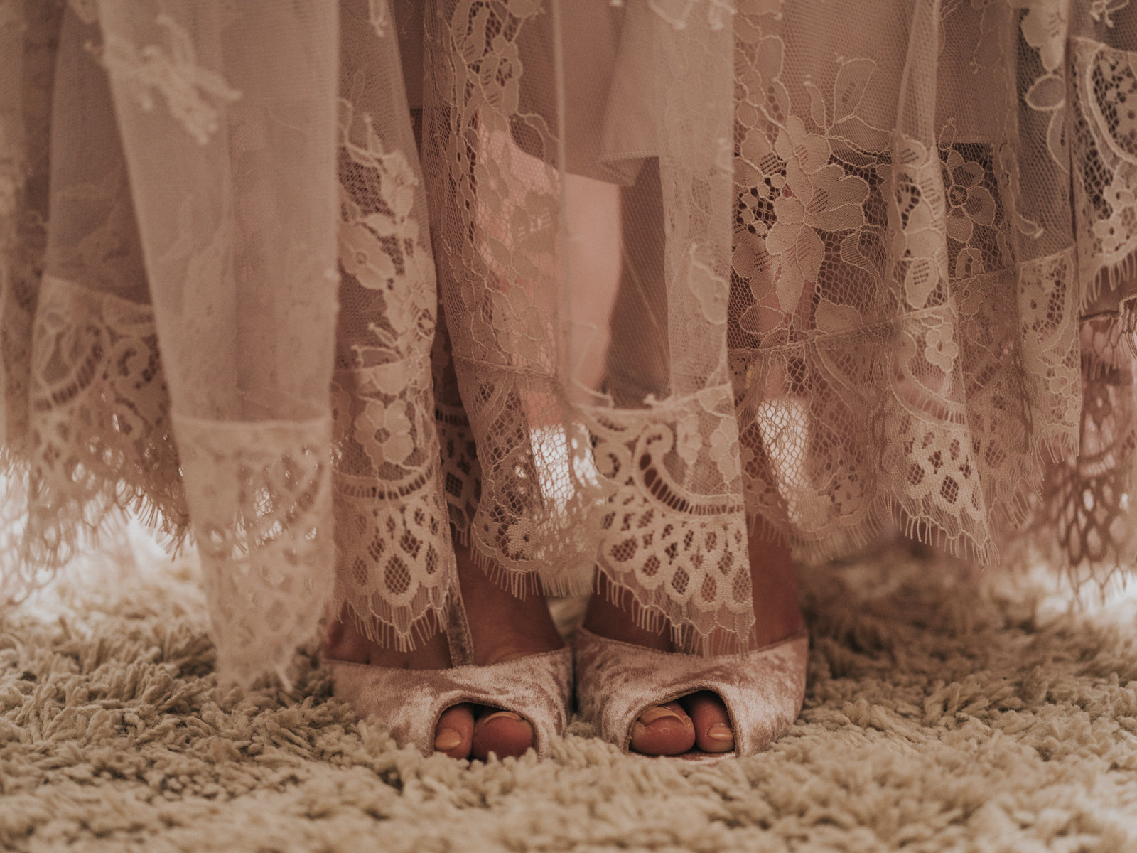 Olivia Mauve Wedding shoes Rachel Simpson