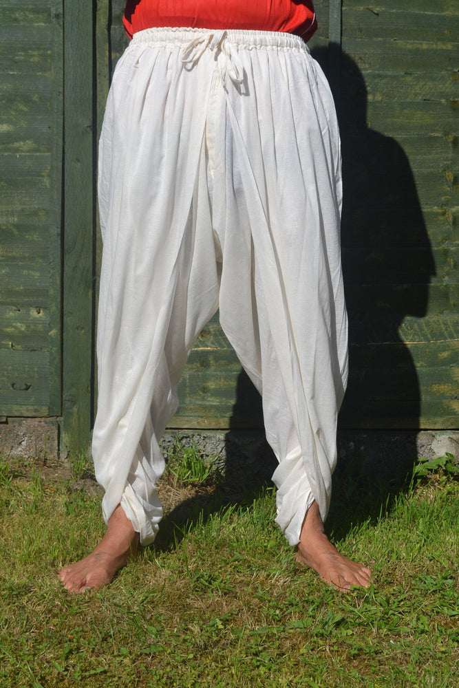 Cotton Dhoti Pant - Off White
