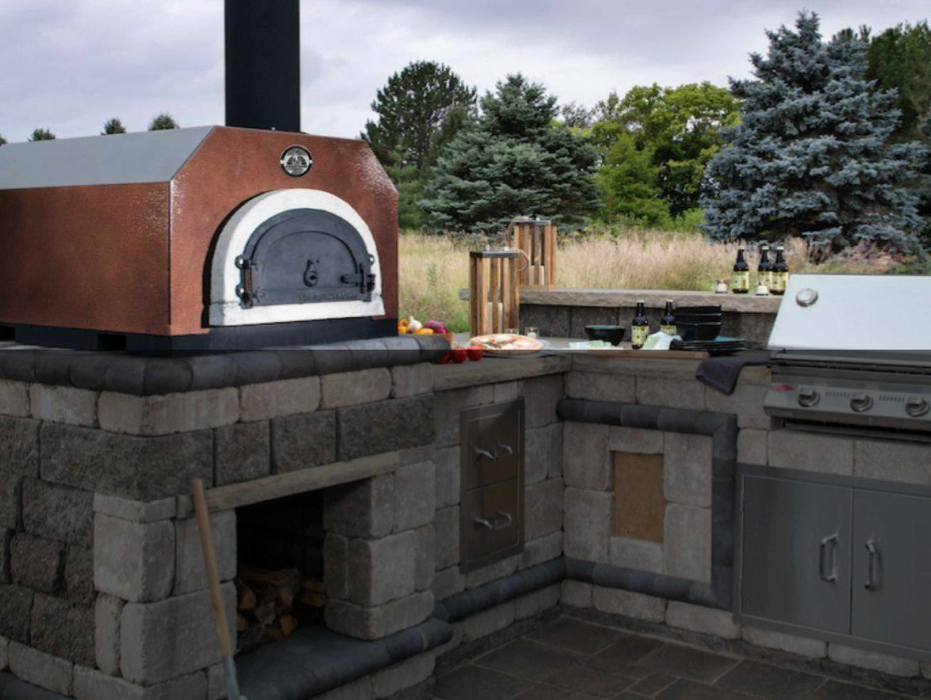 outdoor pizza ovens collection