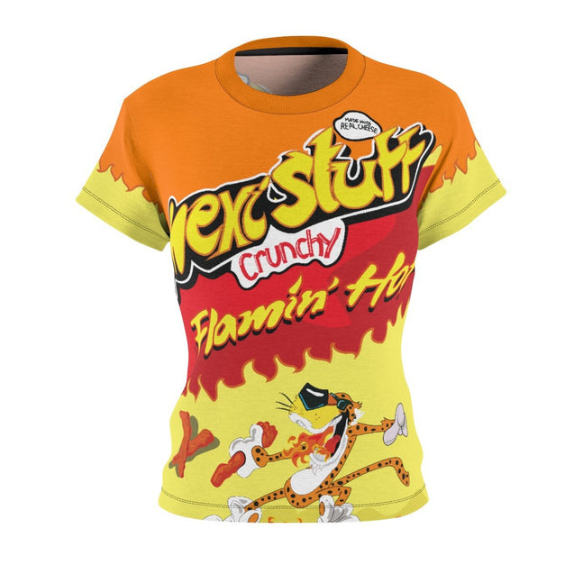 Flamin Hot All-Over Women's Tee