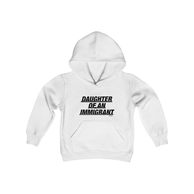 Daughter of An Immigrant Kids Hoodie