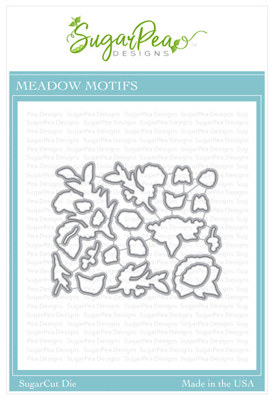 SugarCut Meadow Motifs