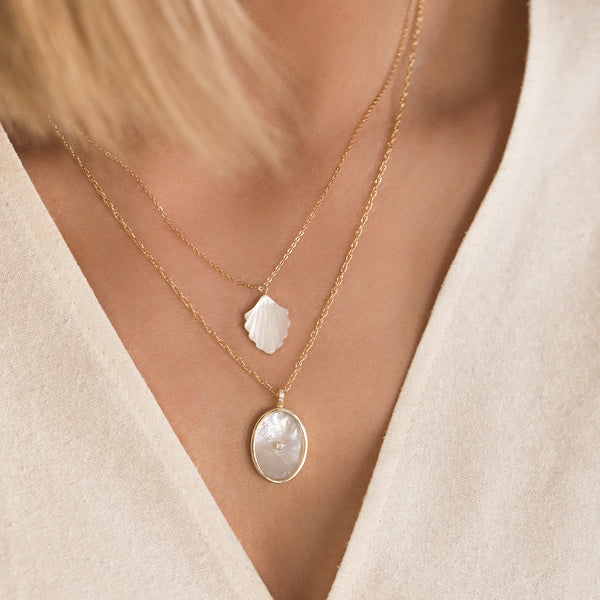 Sirene Necklace | Pearl