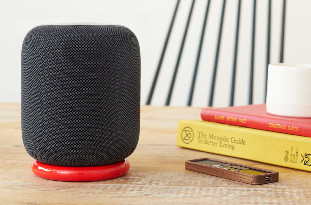 Flosku Halo Stand for Apple HomePod - LE Red