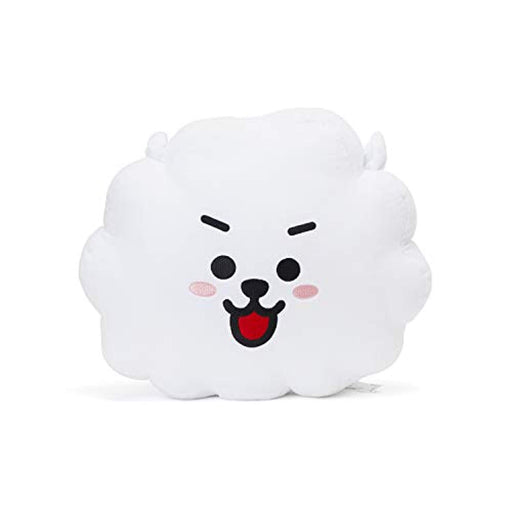 BT21 Official Merchandise by Line Friends - RJ Smile Decorative Throw Pillows Cushion, 16.5 Inch