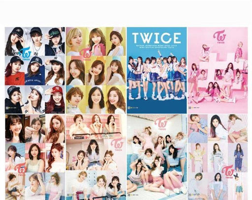 """TWICE A3"" WALL PICTURES (8PCS)"