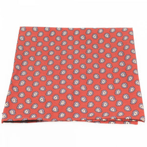 Paisley Cotton Pocket Square | Blick
