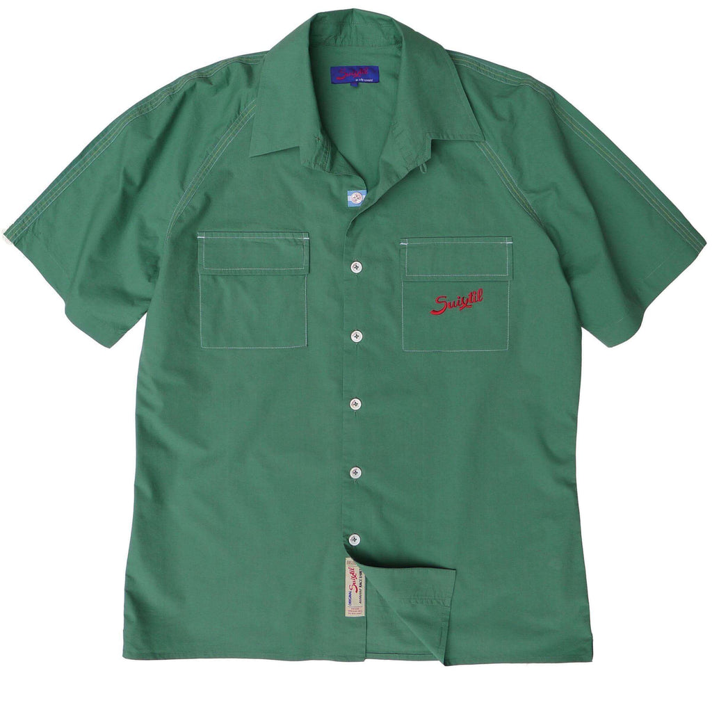 Green Race Shirt - Angouleme | Suixtil