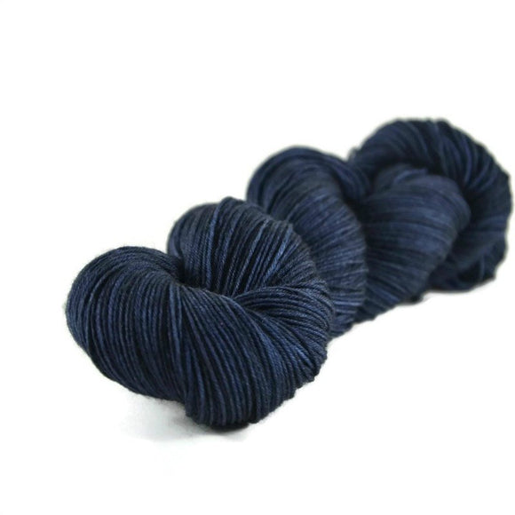 Percival Merino Nylon Fingering Sock Yarn - Navy
