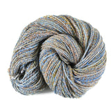 Handspun Merino Silk Yarn 2 ply DK weight, 289 yards - Seaside