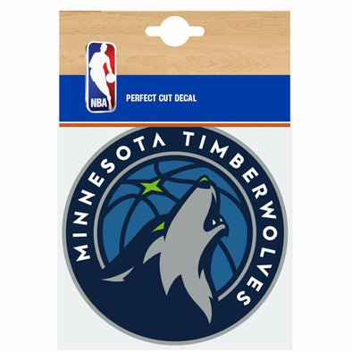 Fanatics NBA Minnesota Timberwolves Car Decal