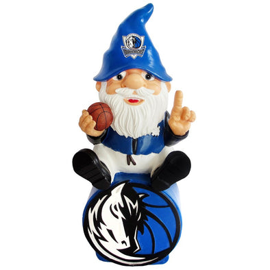 "Dallas Mavericks NBA Logo 9.5"" Figure Gnome"