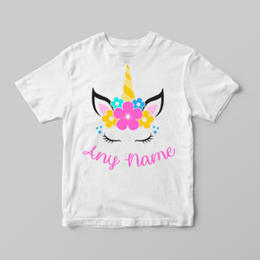 Unicorn Flowers T-Shirt