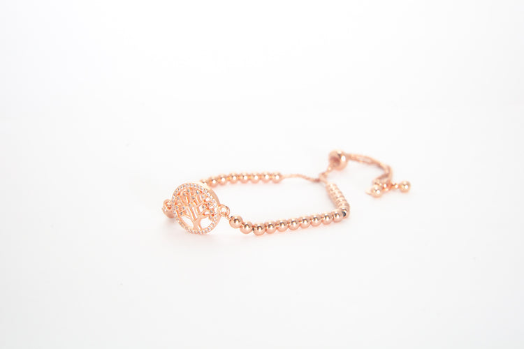 Rose Gold Extender - Tree of Life