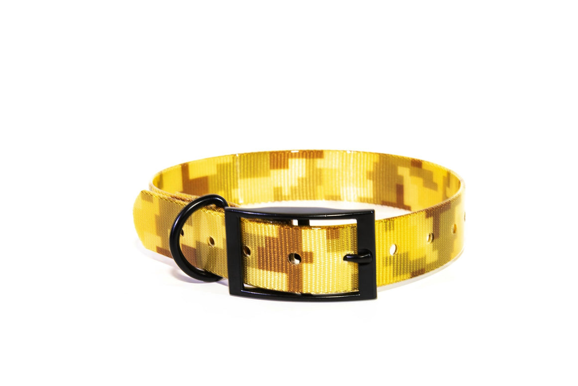 1 Inch ProDog Brand Desert Storm Camo Collar - Customize your Nameplate!
