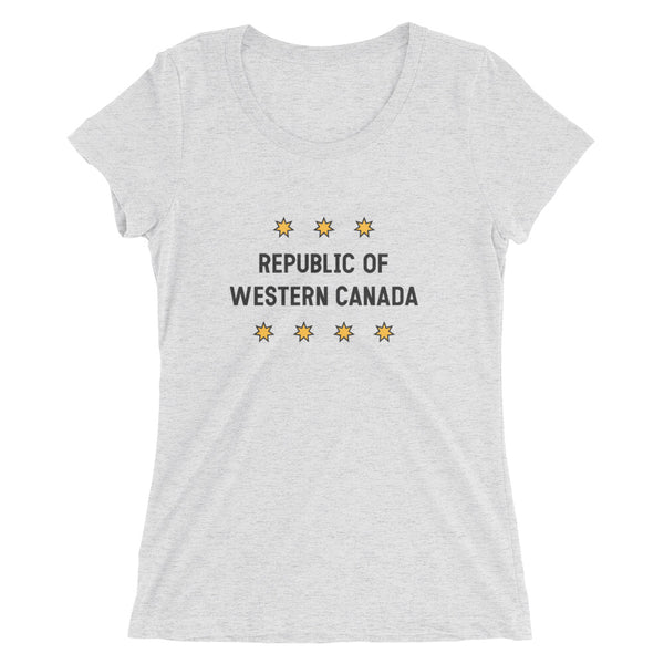 Republic of Western Canada Ladies' Tee