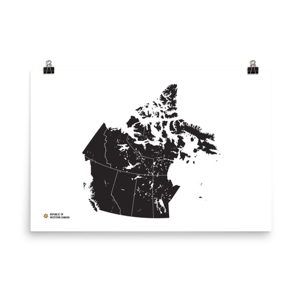 Republic of Western Canada Poster