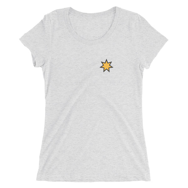 Seven Pointed Heart Womens Tee