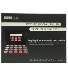 Load image into Gallery viewer, Beautytreats Blush contour palette 993
