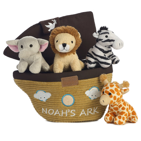 baby talk soft playset infant toddler noahs ark