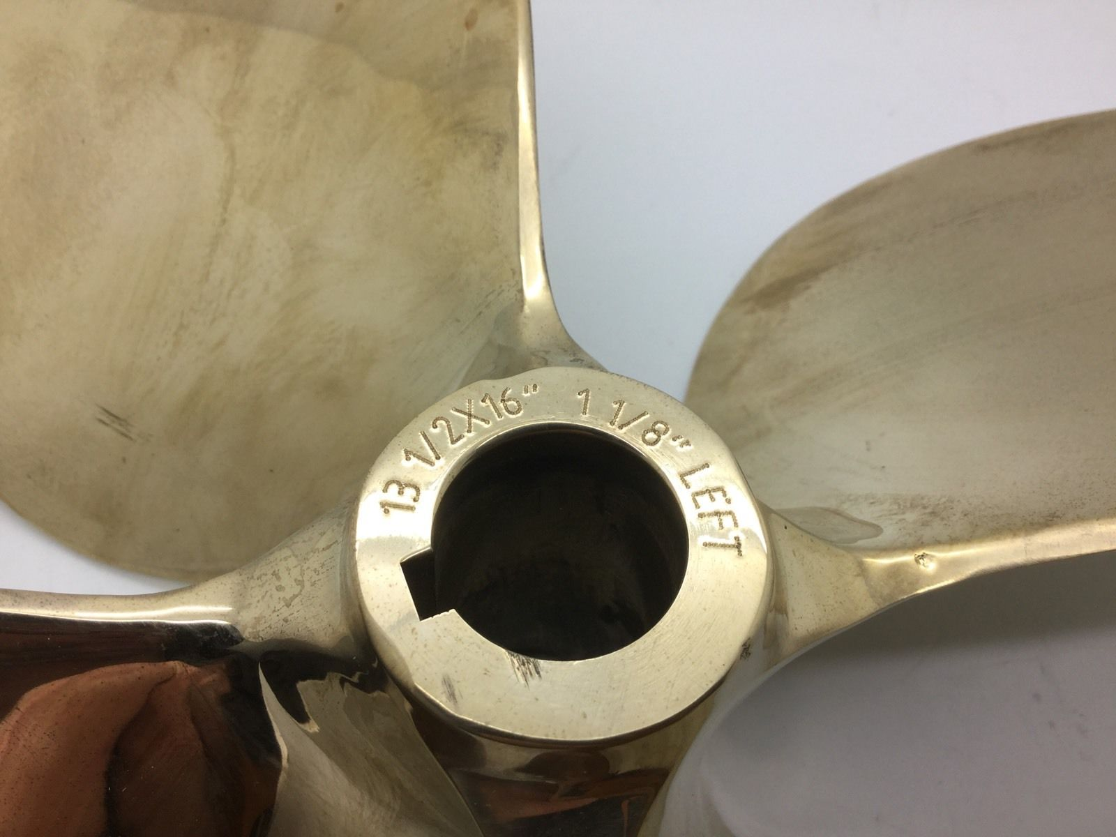 Acme export Malibu 537 Propeller No- Oz Marine 4x13 1/2x16