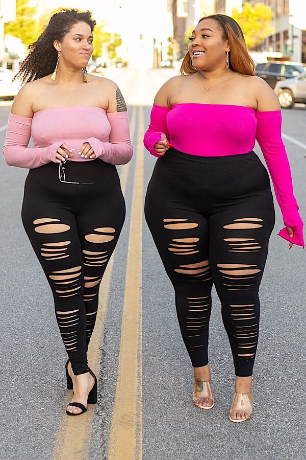 Headlines Distressed Leggings