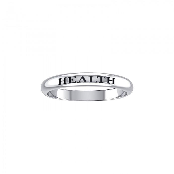 HEALTH Sterling Silver Ring TRI604