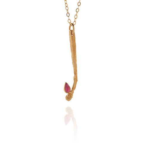 The Lit Matchstick Necklace
