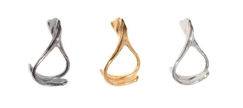 The Wishbone Stacking Rings