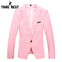 Gentleman One Button Casual Style Male Blazers 7 Colors Fashion Men Asian Size Suit MWX278