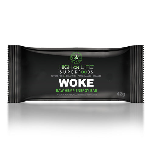 WOKE - RAW HEMP ENERGY BAR (42g)