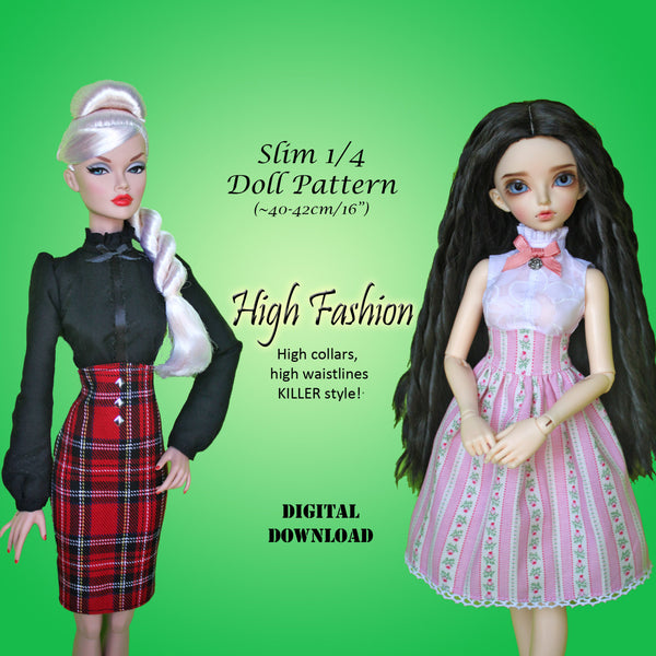 High Fashion: Blouses & Skirts