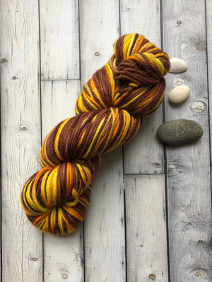 Worsted Weight Yarn - Brownbow