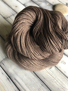 taupe sock yarn