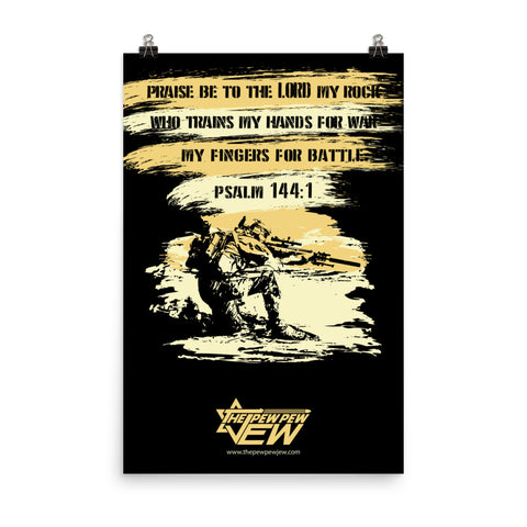Warriors Prayer Poster