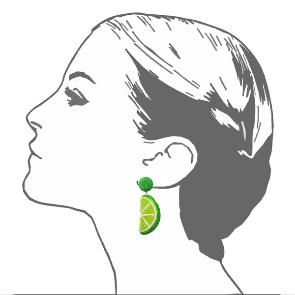 Lima Drop Earrings - Suzanna Dai