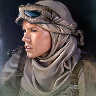 The Scavenger by Brian Rood | Star Wars