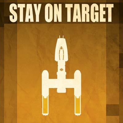 Stay on Target by Jason Christman | Star Wars - thumb
