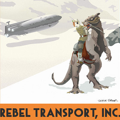 Hoth Rebel Transport by Steve Thomas | Star Wars