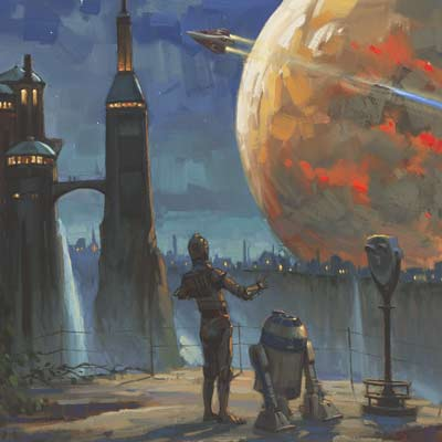 The Droids' Vista by David Tutwiler | Star Wars