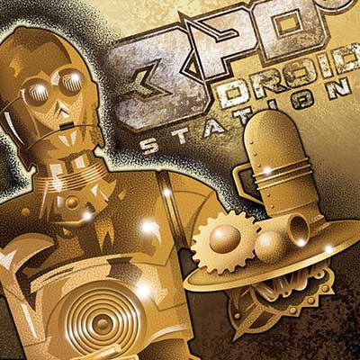 3PO's Droid Station by Mike Kungl | Star Wars